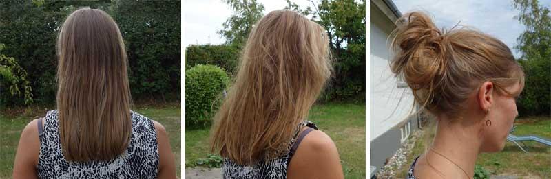 Fint hår fylde