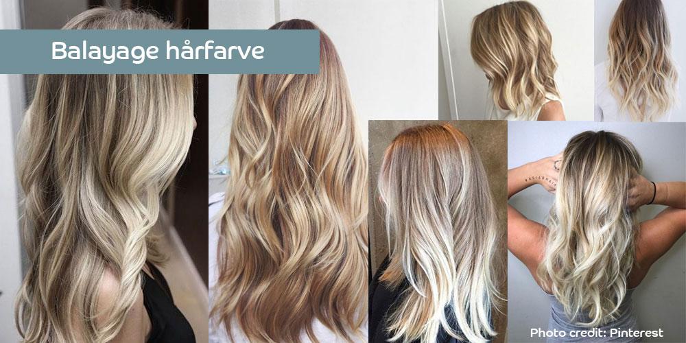 Balayage hårfarve
