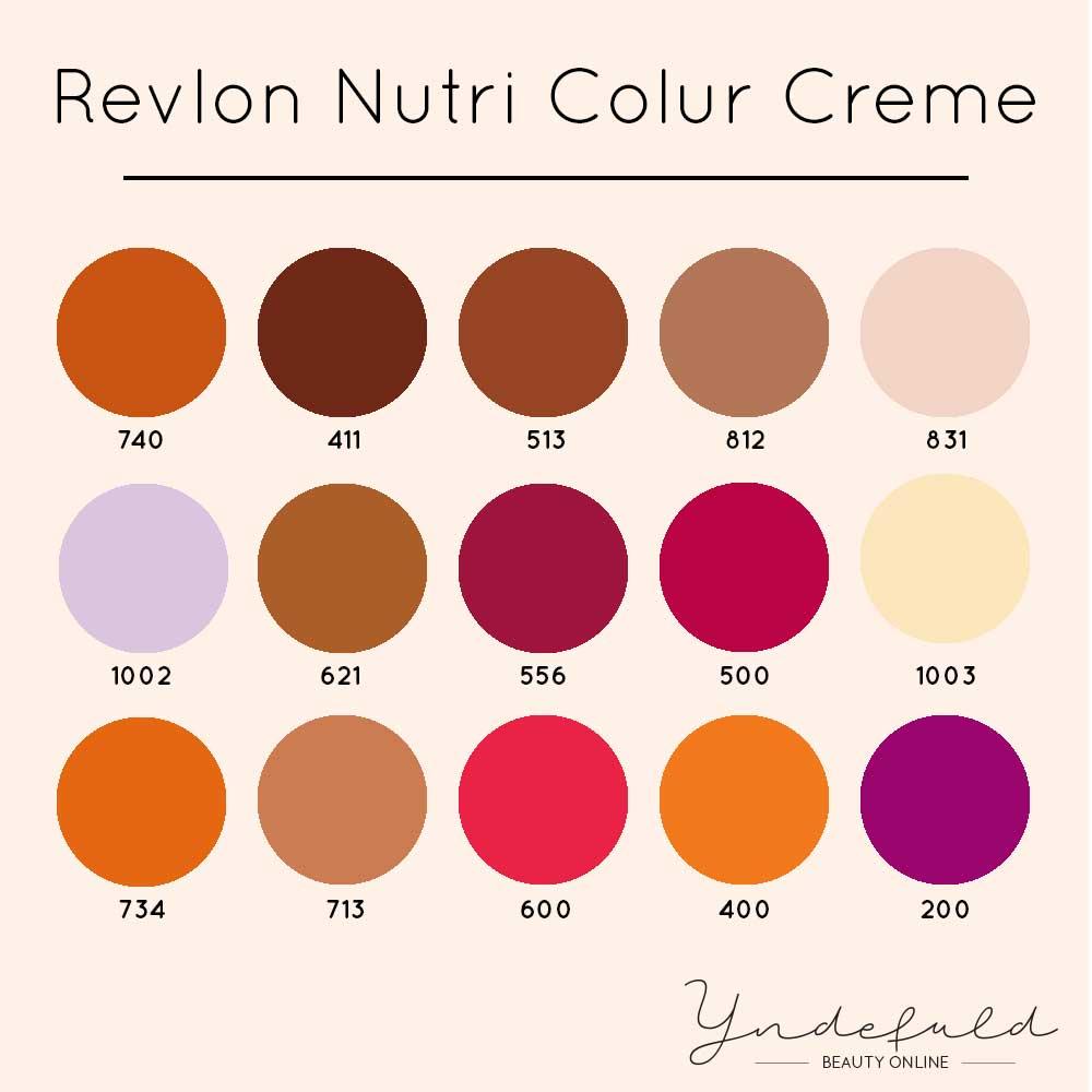Farvebombe farver fra Revlon Nutri Color creme