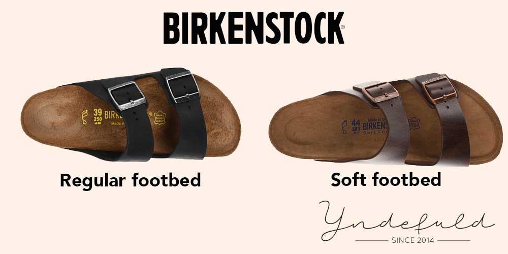 Birkenstock sål - foodbed