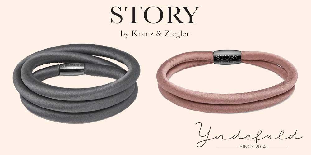 Silkearmbånd fra Story - armbånd i silke