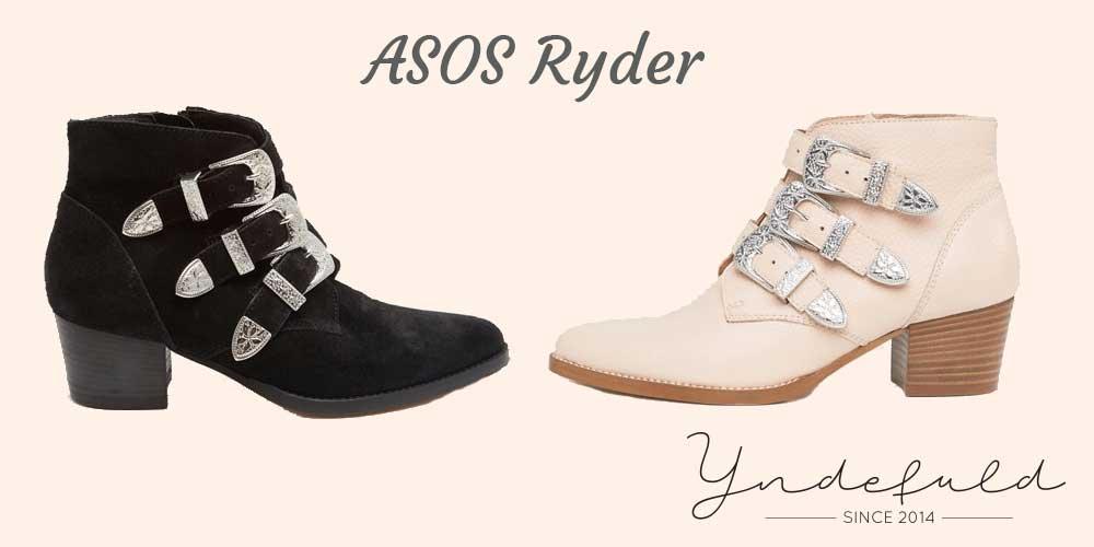 ASOS Ryder ankelstøvle med spænder