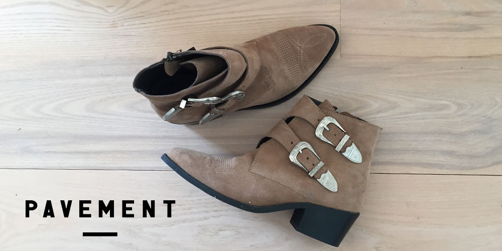 Pavement sko, støvler og støvletter