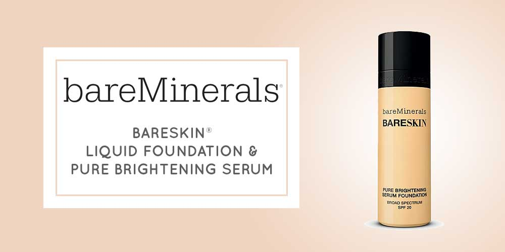 BARESKIN® LIQUID FOUNDATION & PURE BRIGHTENING SERUM