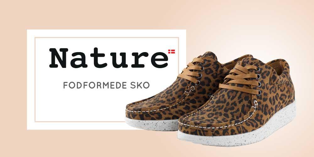 Nature sko - fodformede sko til kvinder og damer