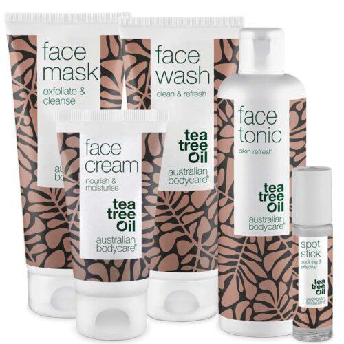 Den ultimative ansigtspakke - 5 produkter mod bumser, uren hud og hudorme