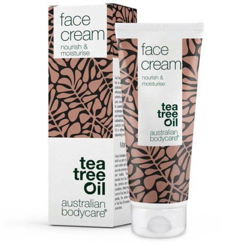 Face cream - Let og Fugtgivende Ansigtscreme med Naturlig Tea Tree Oil (100ml)