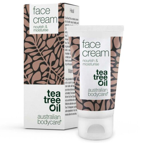 Face cream - Let og Fugtgivende Ansigtscreme med Naturlig Tea Tree Oil (50ml)