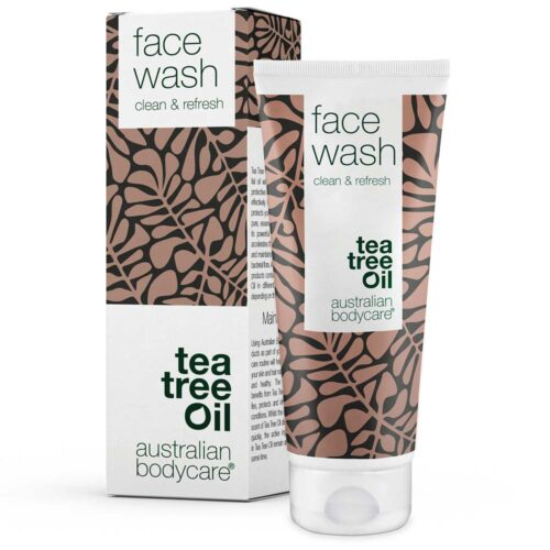 Face wash - Effektiv ansigtsvask med naturlig Tea Tree Oil
