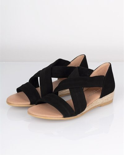 Pavement - Sandal - Isabella - Black Suede