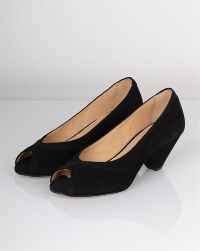 Pavement - Sandal - Zoey - Black Suede
