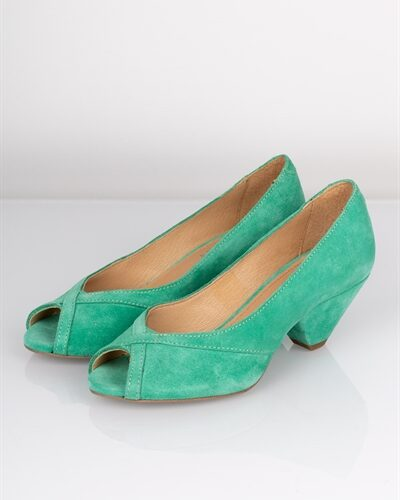Pavement - Sandal - Zoey - Pastel Green Suede