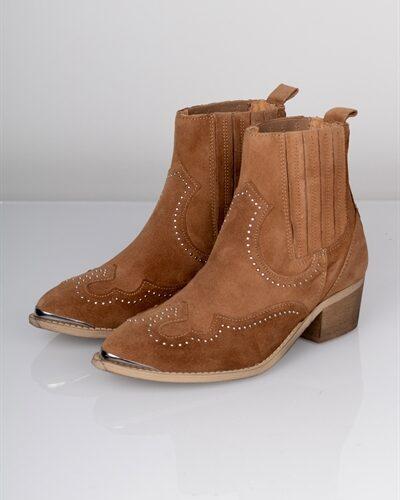 Pavement - Støvler - Ruth - Taupe Suede