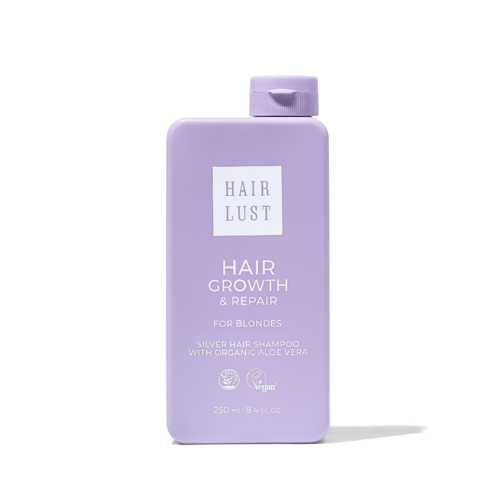 Hairlust silver shampoo